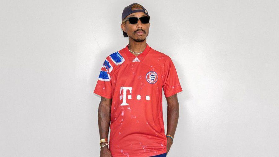 Pharrell Williams designt Trikots für fünf Top-Fußballklubs. (cos/spot)
