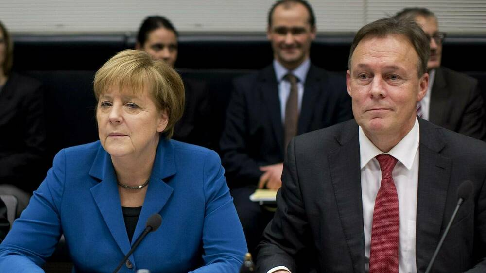 Angela Merkel trauert um Thomas Oppermann