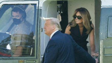 Das berüchtigte Foto mit dem angeblichen Double von Melania Trump. (jom/spot)