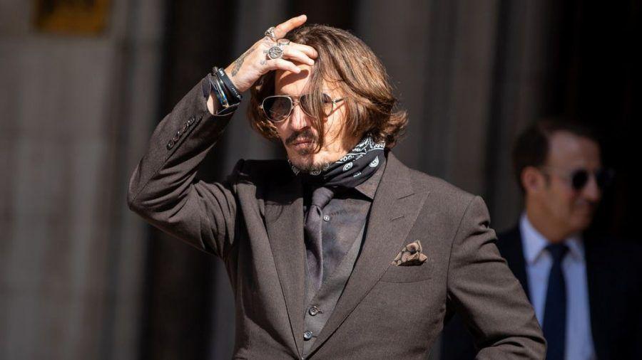 Schauspieler Johnny Depp im Juli 2020 in London. (cos/spot)