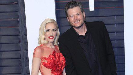 Gwen Stefani und Blake Shelton auf dem roten Teppich im Jahr 2016. (jom/spot)