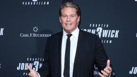 """David Hasselhoff bei der Premiere des Action-Streifens """"John Wick 3"""" in Los Angeles (stk/spot)"""
