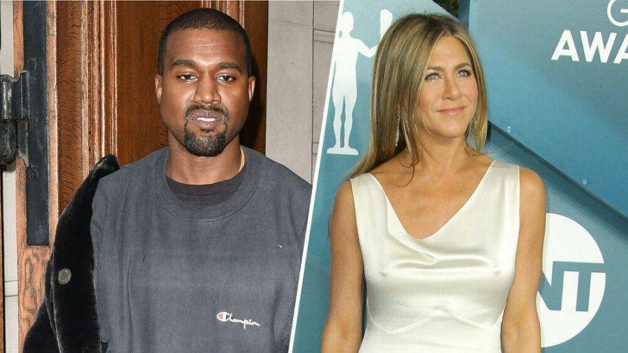 """Kanye West und Jennifer Aniston haben bezüglich der US-Wahl und der Serie """"Friends"""" sehr unterschiedliche Meinungen (stk/spot)"""