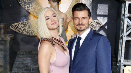 Katy Perry und Orlando Bloom bei einem Auftritt in Hollywood (hub/spot)