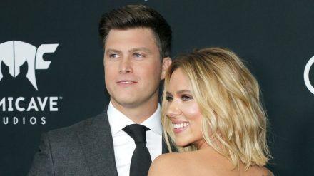 Colin Jost und Scarlett Johansson sind seit Kurzem Mann und Frau. (cos/spot)