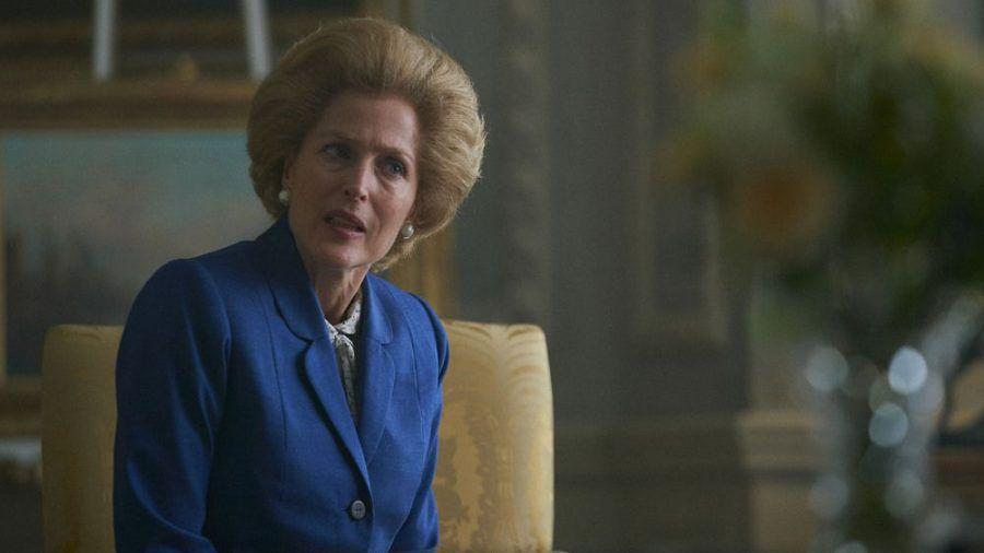 """Die Queen bekommt es in Staffel vier von """"The Crown"""" mit Premierministerin Margaret Thatcher (Gillian Anderson) zu tun. (hub/spot)"""