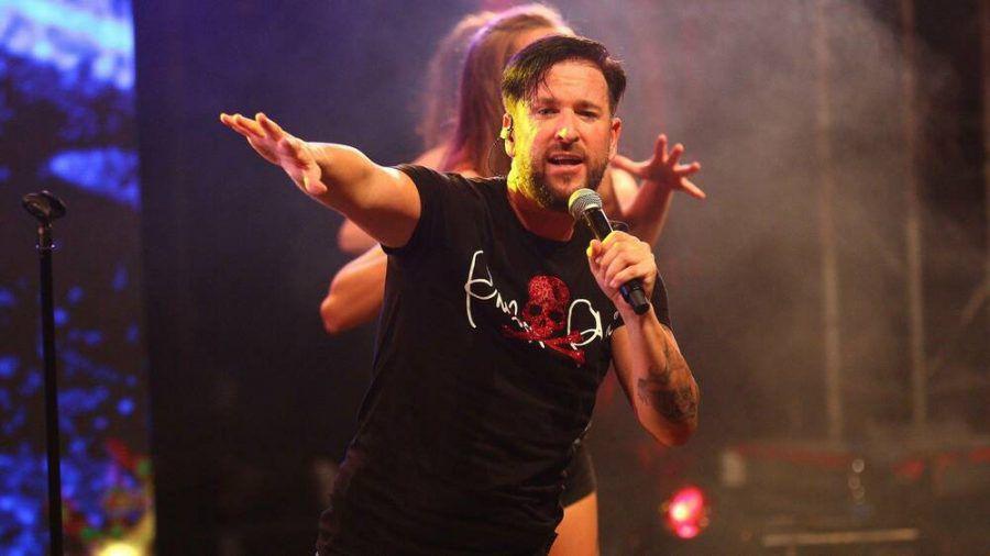 Michael Wendler während eines Auftritts im vergangenen Jahr. (wue/spot)