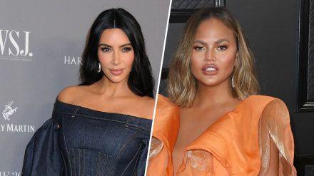 Die Stars lieben Halloween, auch zu Hause: Kim Kardashian verkleidete sich mit Familie und auch Chrissy Teigen meldete sich für den 31. Oktober zurück. (ncz/spot)