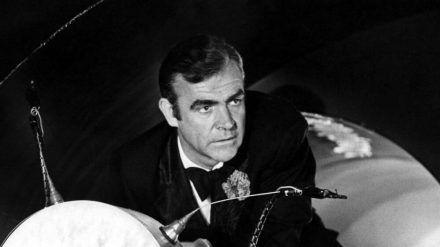 "Sean Connery in ""James Bond 007 - Diamantenfieber"" aus dem Jahr 1971. (cam/stk/dms/spot)"