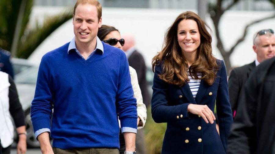 Gemeinsam auf Reisen: Prinz William und Herzogin Kate während einer Neuseeland-Tour. (ncz/spot)