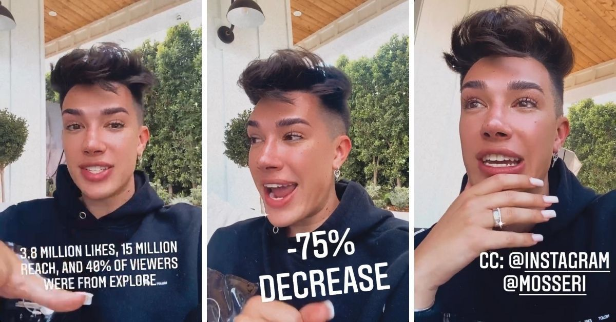 James Charles: Beauty-YouTuber schießt gegen Instagram