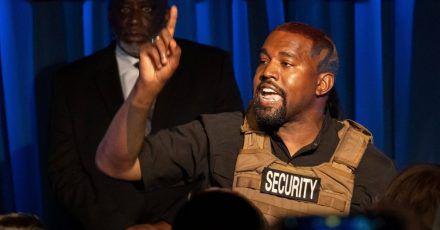 Kanye West: Gott will seine Präsidentschaft