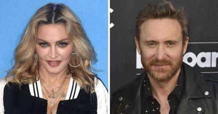 Madonna korbt David Guetta – weil er Skorpion ist?!