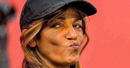 Nadja Abd el Farrag klärt über Corona und Masken auf