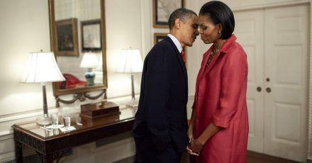 So süß gratulieren sich die Obamas zum 28. Hochzeitstag