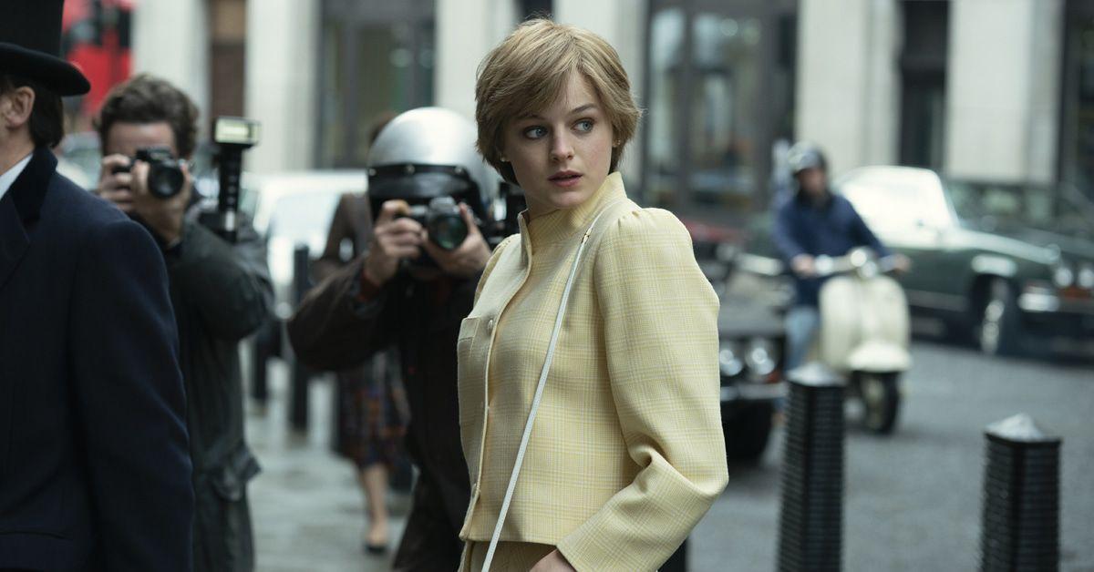 """""""The Crown"""": Netflix zeigt Emma Corrin als Lady Diana im Brautkleid"""