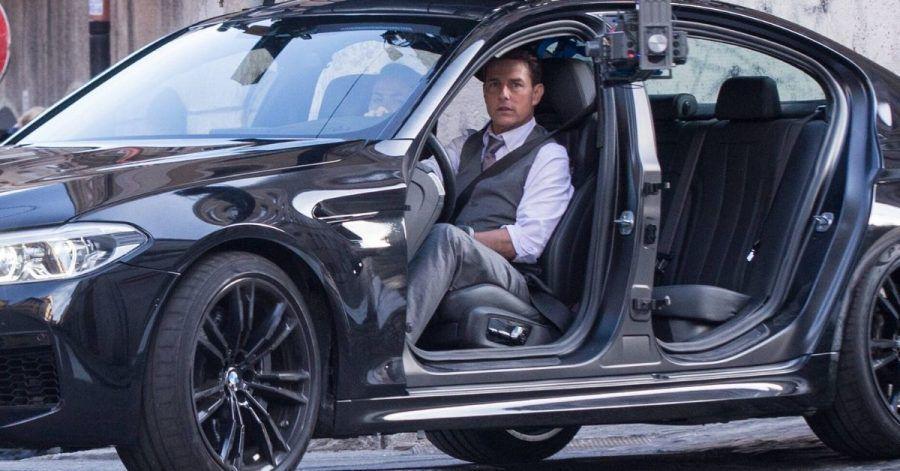 Tom Cruise dreht mit quietschenden Reifen in Rom