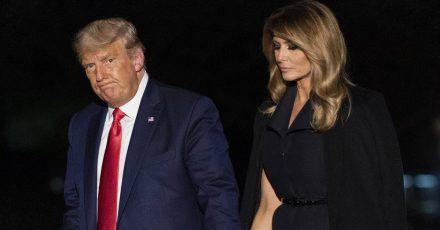 Erwischt: Verwendet Melania Trump ein Body-Double?