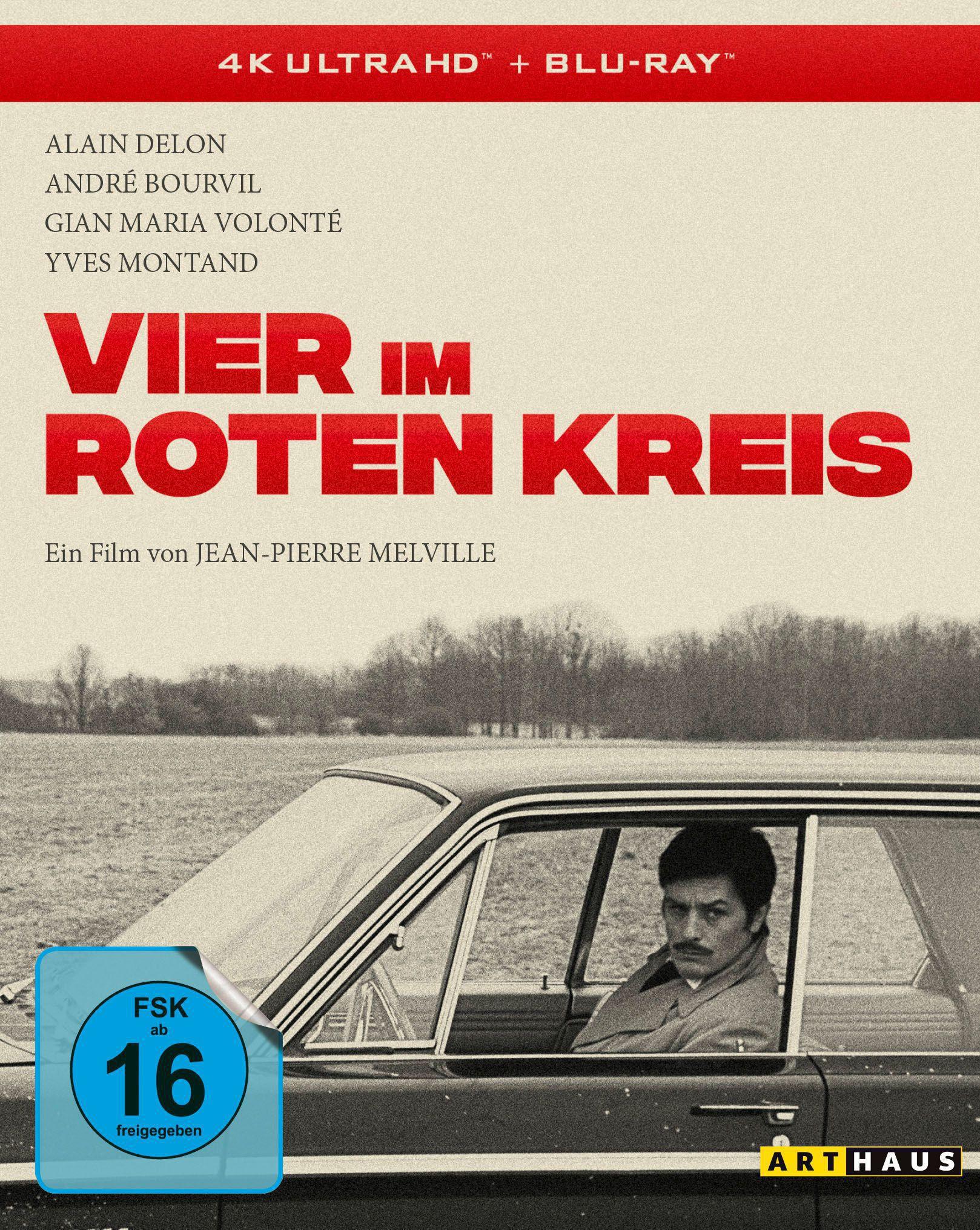 """Alain Delon in """"Vier im roten Kreis"""": Einer der größten Gangsterfilme in 4K restauriert"""
