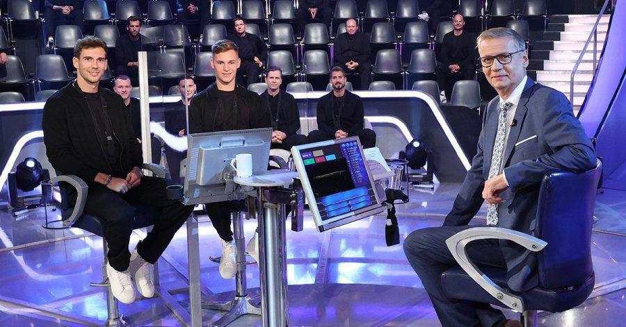 Leon Goretzka, Joshua Kimmich & Co. hocken bei Günther Jauch!
