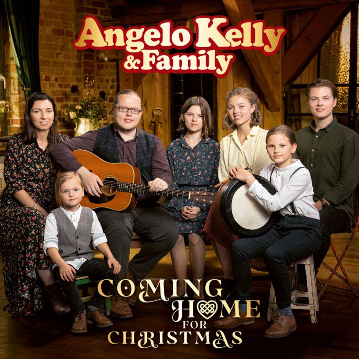 Angelo Kelly und seine süße Familie: Hier kommt das Weihnachts-Video 2020!