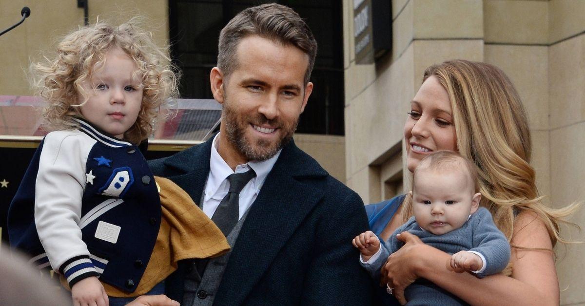 Ryan Reynolds: Stolzer Papa seiner drei Mädels