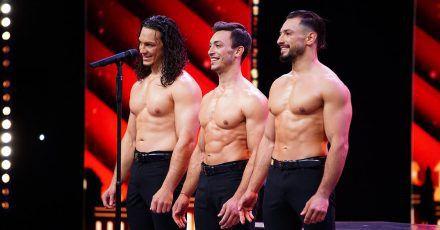 """Sexy Trio """"Messoudi Brothers"""" mischen """"Das Supertalent"""" auf"""