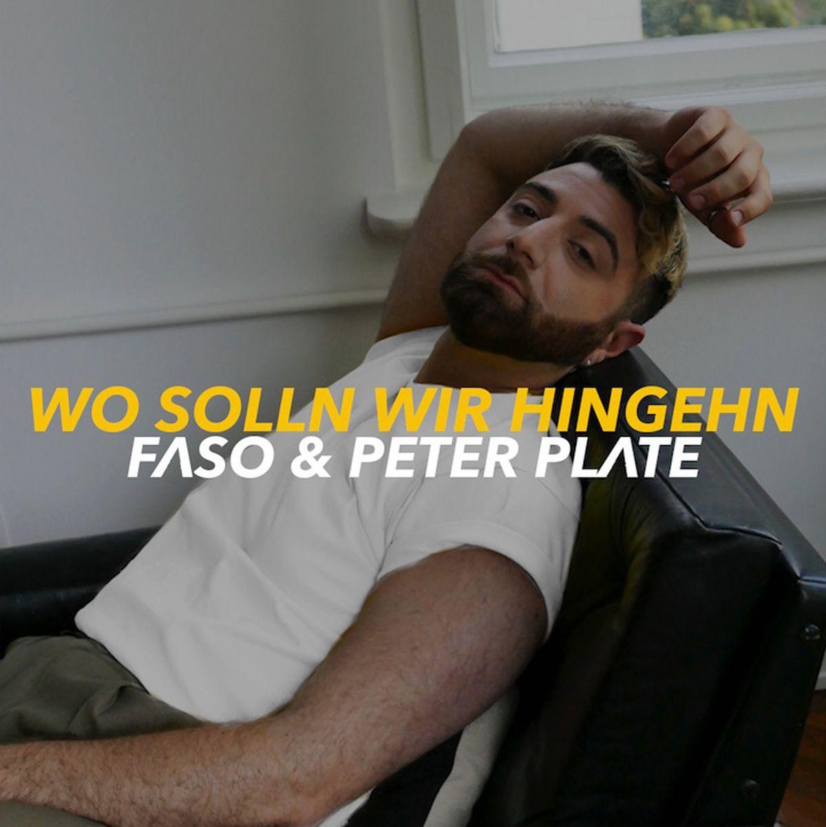 Peter Plate (Rosenstolz) meldet sich mit Faso zurück