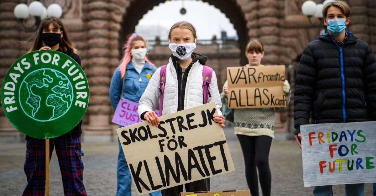Greta Thunberg demonstriert jetzt vom Homeoffice aus