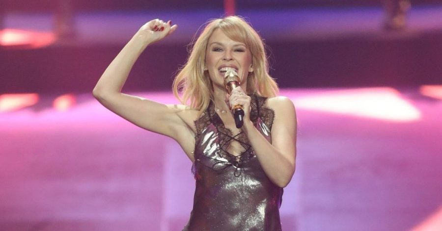 Kylie Minogue bei der 27. Verleihung des Deutschen Musikpreises Echo.