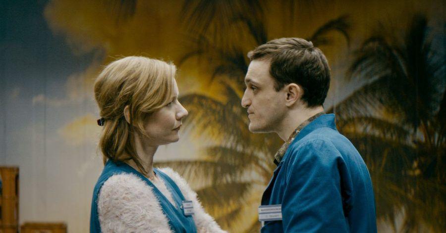 Sandra Hüller und Franz Rogowski in Thomas Stubers Film «In den Gängen».
