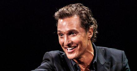 Matthew McConaughey: Ein Ständchen seiner Kinder zum Geburtstag.