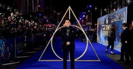 Johnny Depp bei der Premiere von «Phantastische Tierwesen: Grindelwalds Verbrechen» in London (2018).