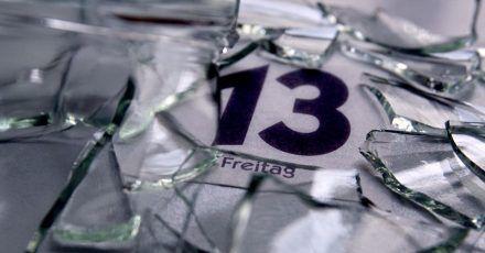 Mindestens einen Freitag, den 13., gibt es jedes Jahr.