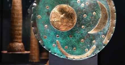 Die Himmelsscheibe von Nebra zählt seit  2013 zum Weltdokumentenerbe der Unesco.