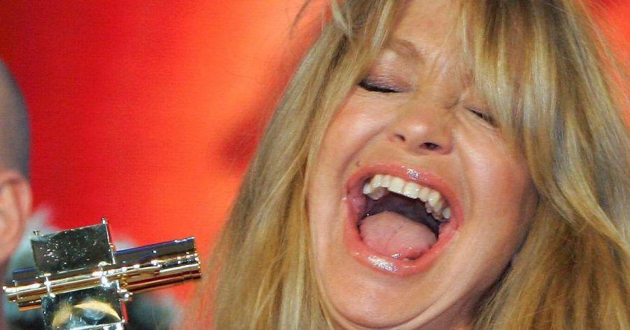 Immer zum Lachen aufgelegt: Goldie Hawn.