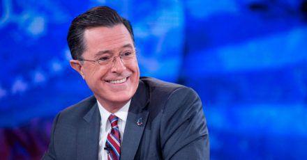 Stephen Colbert  gilt als einer der schärfsten Kritiker des scheidenden US-Präsidenten.