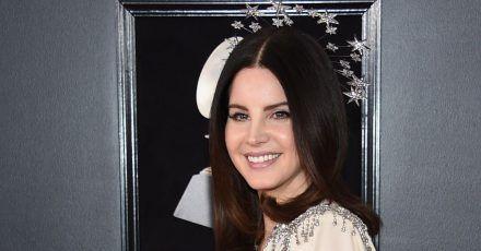 Lana Del Rey bei der Verleihung der 60. Grammy Awards 2018.