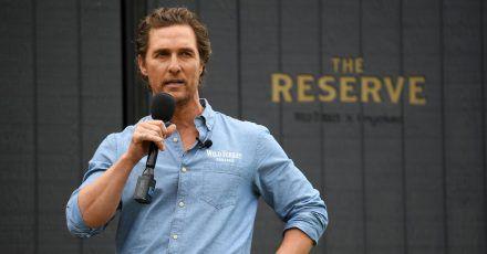 Matthew McConaughey: «Politik scheint mir im Moment ein kaputtes Geschäft zu sein.»