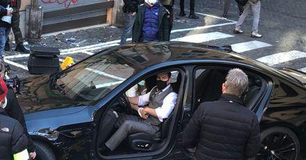 Tom Cruise dreht in den engen Innenstadtgassen des Viertels Monti.