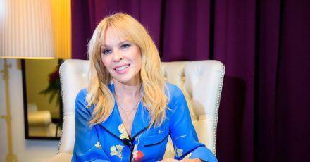 Kylie Minogue hat Heimweh.