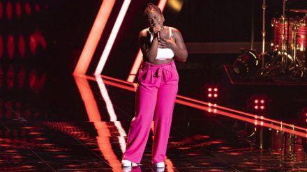 Beim Auftritt von Talent Esther Nkongo ist es zu einer Panne gekommen. (jom/spot)