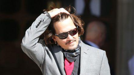 """Schauspieler Johnny Depp hat den Gerichtsprozess gegen """"The Sun"""" verloren. (cos/spot)"""