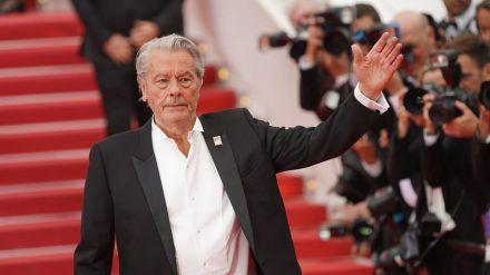 Alain Delon beim Filmfest in Cannes 2019 (jru/spot)