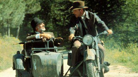 """Harrison Ford und Sean Connery in """"Indiana Jones und der letzte Kreuzzug"""" (hub/spot)"""
