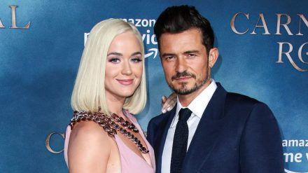 Katy Perry und Orlando Bloom mussten ihre Hochzeit 2020 verschieben. (ncz/spot)