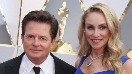 Michael J. Fox und seine Frau Tracy Pollan (stk/spot)