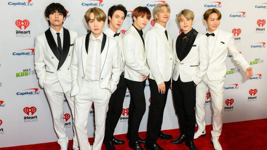 BTS bei einem Auftritt in Los Angeles (hub/spot)