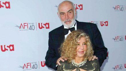Sean Connery und Micheline Roquebrune 2007 auf dem roten Teppich. (mia/spot)