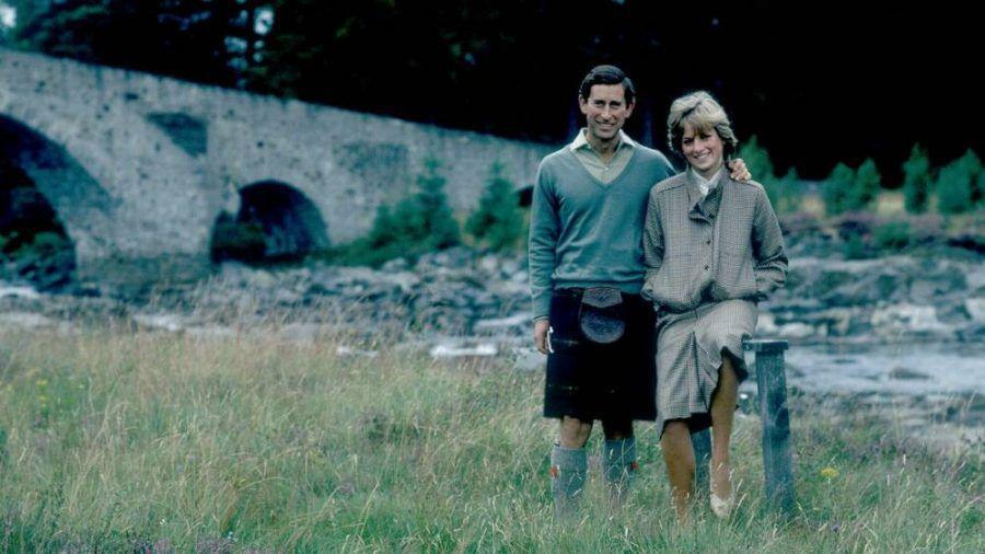 Prinz Charles und Diana kurz nach ihrer Hochzeit 1981. (hub/spot)